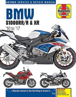 BMW S1000RR S1000R & S1000XR 2010 - 2017 Haynes Manual 6400