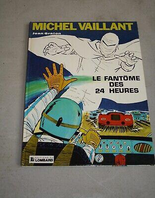 BD : Michel vaillant : le fantôme des 24 Heures . Jean Graton . Lombard 1972