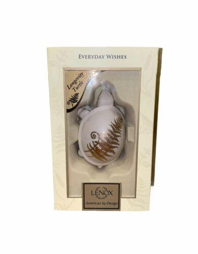 Lenox Longevity Turtle Everyday Wishes Collectable Porcelain Animal Figurine
