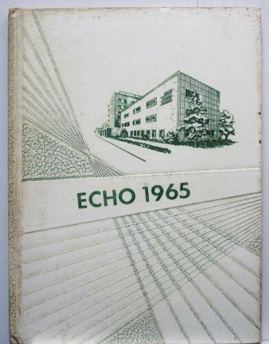 Nurses - Akron Ohio General Hospital Nursing School 1965 Echo Annual Year Book