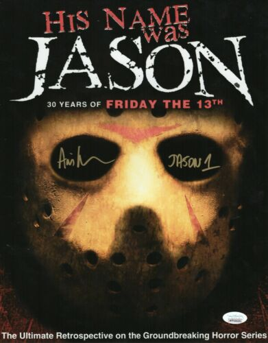 "Ari Lehman Autograph Signed 11x14 Photo - Friday the 13th ""Jason"" (JSA COA)"