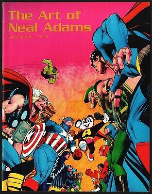 1975 THE ART OF NEAL ADAMS VOLUME #1, FINE 6.0