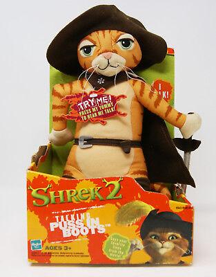 Hasbro - Shrek 2 - Plüsch - Puss in Boots / der gestiefelte Kater - Englisch