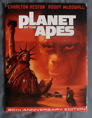 Planet of The Apes 30th Anniversay Press Kit 4 Color Slides 2 Photos & Documents