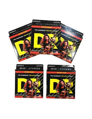 Dr Cuerdas de Guitarra Eléctrica 5-Pack Dimebag Hi-Voltage 09-50
