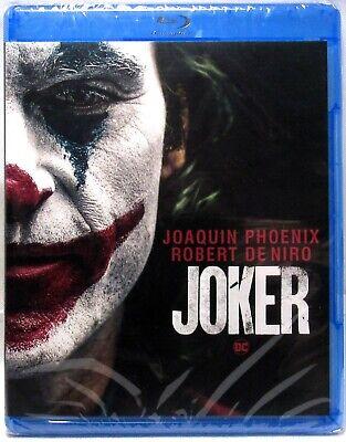 JOKER 2019 Blu-Ray + DVD + Digital (Joaquin Phoenix) >NEW< No Slipcover