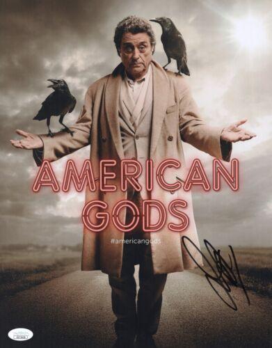 IAN MCSHANE Signed AMERICAN GODS 11x14 Photo InPerson Autograph DEADWOOD JSA COA