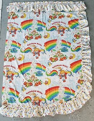 Vintage Hallmark 1983 Rainbow Brite Curtain Panel
