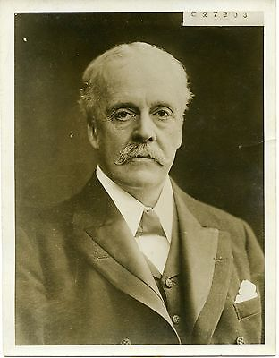 Lord Balfour becomes First Lord of the Admiralty 1915 original press photo