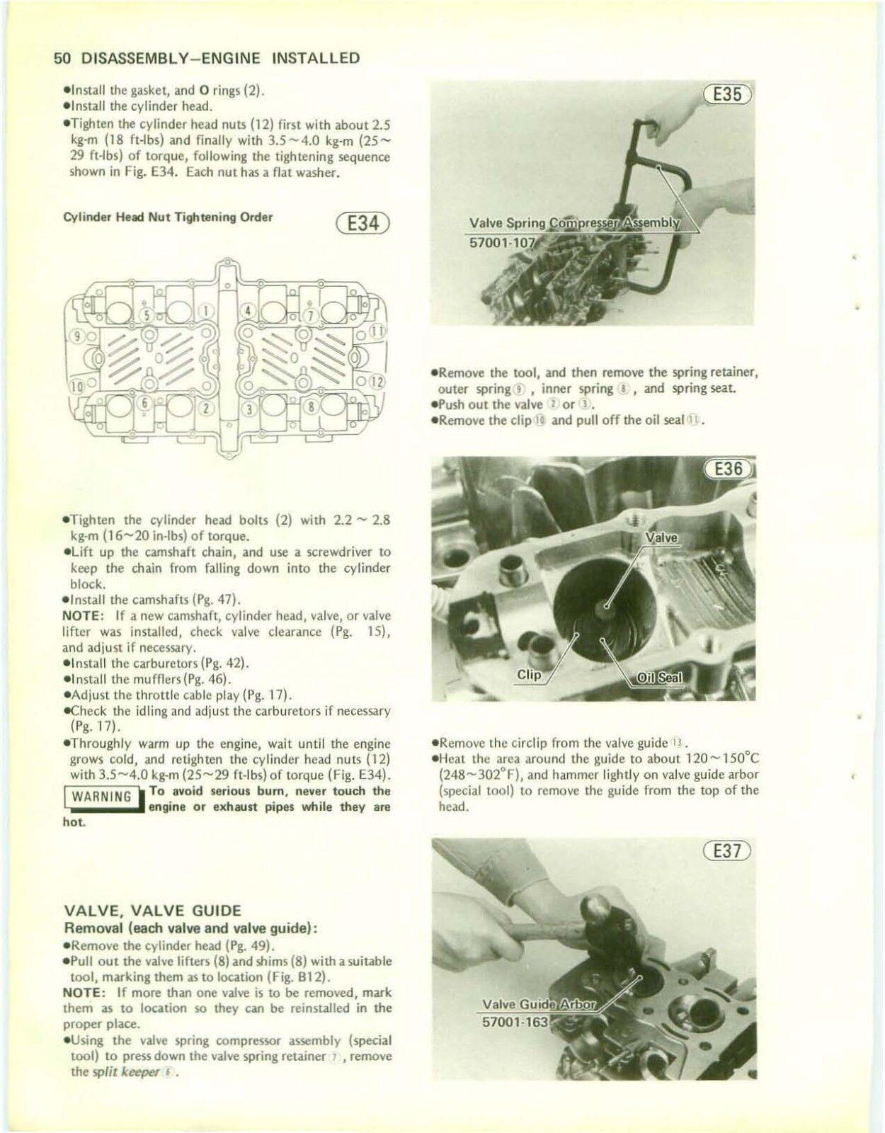 Kz Kawasaki Factory Manual Pdf