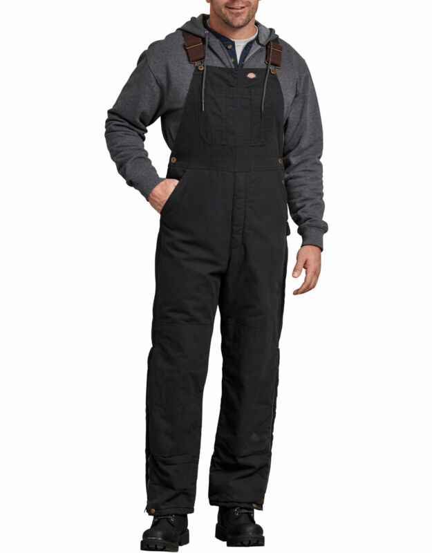 Dickies TB244 Sanded Duck Insulated Bib Overall