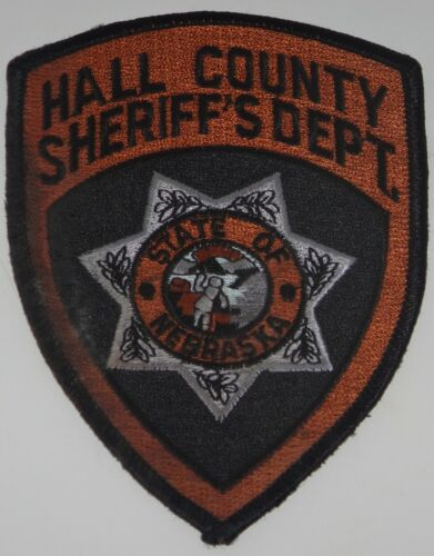 Hall County, Nebraska SHERIFF's Department Uniform Shoulder Patch