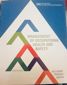 Management of Occupational Health & Safety-7th Edition
