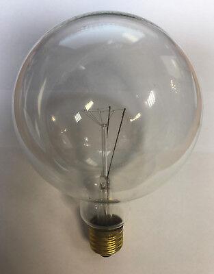 25w Klar Globe (Paulmann Glühlampe Globe G 125 E27 230V 25W   Globelampe klar )