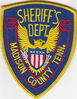 MADISON COUNTY SHERIFF'S DEPARTMENT (OLDER) TENNESSEE POLICE PATCH TN