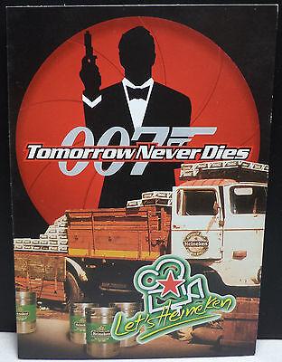 Vhtf Collectible Heineken Beer   James Bond 007 Post Card