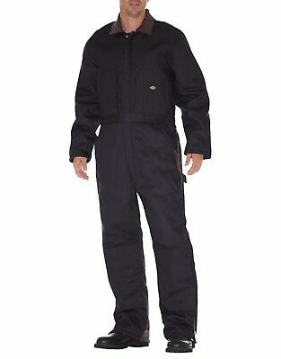 Dickies Men's Duck Premium Insulated Coverall Black TV239BK