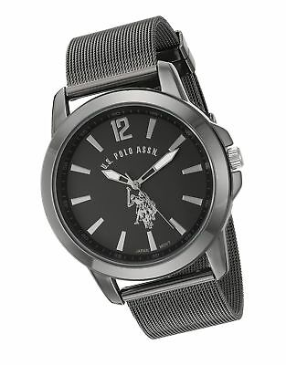 Image result for U.S. Polo Assn. Classic Men's Quartz Metal and Alloy Watch, Color:Black (Model: USC80384)