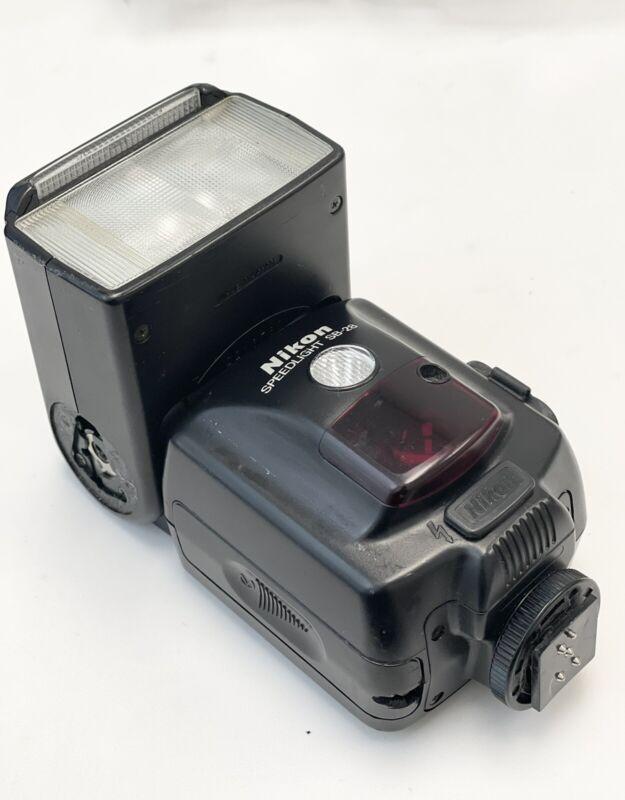 Nikon SB-28 Speedlight Shoe Mount Flash *READ*
