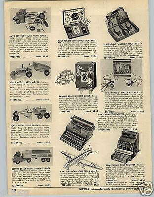 1953 PAPER AD Wyandotte Auto Car Service truck Doepke Scale Model