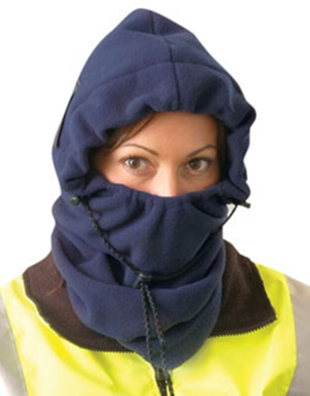 OccuNomix  3 in 1 Fleece Balaclava Safety Winter Liner Navy Blue Color