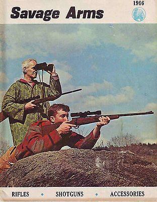 Savage Arms 1966 Rifles Shotguns Accessories Price Catalog