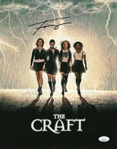 "Fairuza Balk Autograph Signed 11x14 Photo - The Craft ""Nancy Downs"" (JSA COA)"