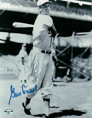 Brooklyn Signed 8x10 Photo (Gino Cimoli Signed 8X10 Vintage Photo Autograph Brooklyn Dodgers Pose Auto)