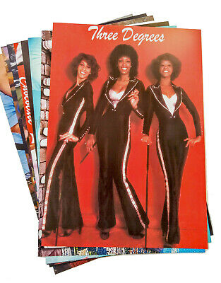 70s Party Decorations - 70s Stars and Bands Posters x 10 - A4 Size - Disco Party](70 Decorations)