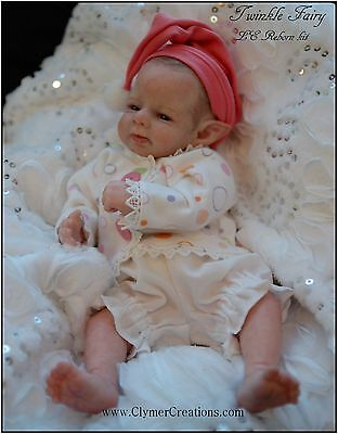"Twinkle FAIRY 11"" LE Reborn BLANK KIT-PARTS only by-Shawna Clymer 2015 WINNER"
