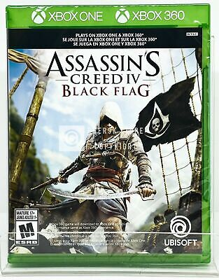 Assassin's Creed IV Black Flag - Xbox One / Xbox 360 - New | Factory Sealed