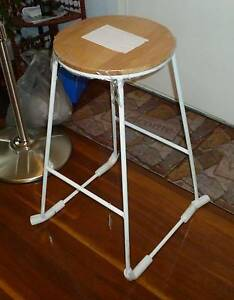 Brand New Heavy Duty White Stool Inala Brisbane South West Preview