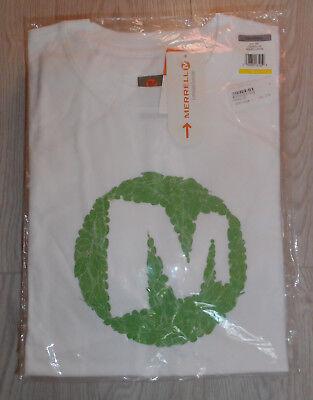 Mens Merrell Dot Tee Merrell White t-shirt size M