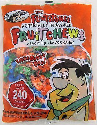 Flintstones Fruit Chews Bulk Candy 240 Count Bag Candies Chew Flintstone Alberts