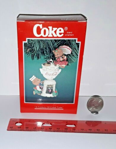Enesco Coca-Cola Brand Ornaments Coke - A Century Of Good Taste # 166774