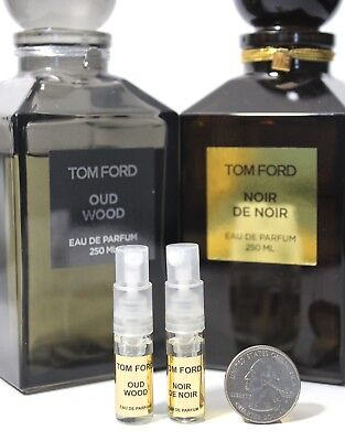 TOM FORD PERFUMES 2 BEST SELLERS OUD WOOD + NOIR DE NOIR   2ml