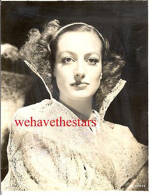 Vintage Joan Crawford GORGEOUS GLAMOUR 30s MGM Publicity Portrait