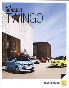 Renault Twingo 08 / 2014 catalogue brochure tcheque czech - Varsovie, Polska - Renault Twingo 08 / 2014 catalogue brochure tcheque czech - Varsovie, Polska