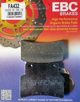 EBC ORGANIC FRONT BRAKE PADS   <em>YAMAHA</em> YZF R 125 ABS  NON ABS 2014   2