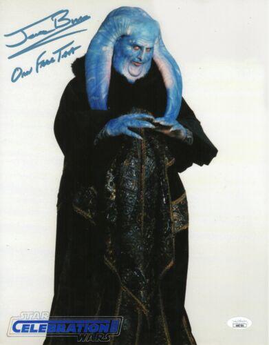 "Jerome Blake Autograph Signed 11x14 Photo - Star Wars ""Orn Free Taa"" (JSA COA)"