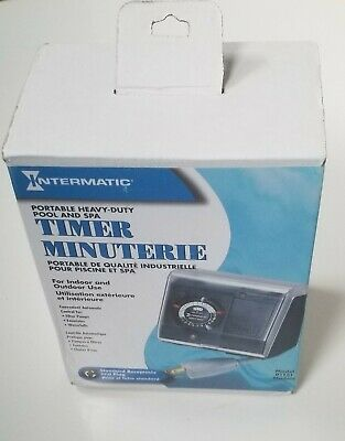 Intermatic P1131 Heavy Duty Above Ground Pool Pump Timer with Twist Lock Plug