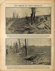 """Bataille de la Marne Mont Cornillet Village de Moronvilliers Tunnel War 1917 WWI - France - Commentaires du vendeur : """"OCCASION"""" - France"""