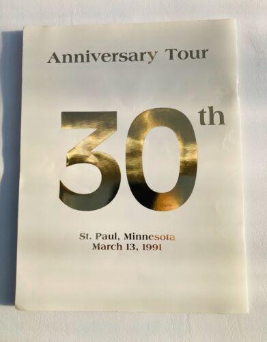 Pavarotti Program  1991 30th Anniversary Tour SAINT PAUL, MINNESOTA 3/13/1991