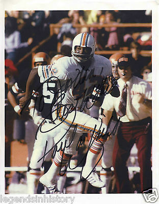 PAUL WARFIELD Autographed Signed Color Football NFL Photograph
