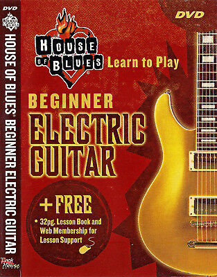 Beginning Electric Guitar: House of Blues, Rock -  (DVD, 2005) John McCarthy Beginning Electric Guitar Dvd