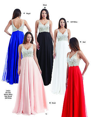 Authentic Chicas Fashion C4221 Dress--Blush -Prom Dress
