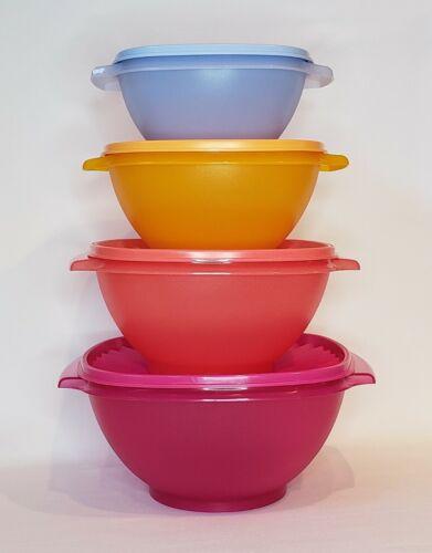 Tupperware Servalier Bowls 4 Pc Set NEW