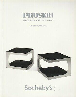 Sothebys PRUSKIN Decorative Art Design French Mid-Century Modern British Paintin