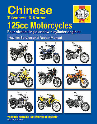 Haynes Manual 4871 Chinese, Taiwanese and Korean 125 cc Motorcycles