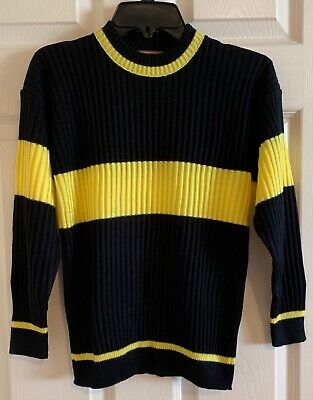Harry Potter Quidditch Halloween Costumes (HARRY POTTER *HUFFLEPUFF QUIDDITCH GAMING SWEATER* COSPLAY  *HALLOWEEN)